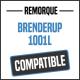 Bâche de remorque compatible BRENDERUP 1001L