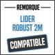 Bâche de remorque compatible LIDER ROBUST 2M