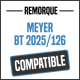 Bâche de remorque compatible MEYER BT2025/126