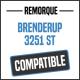 Bâche de remorque compatible BRENDERUP 3251 ST