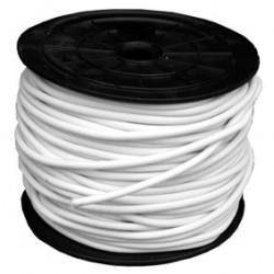 Câble élastique pro 8 mm blanc