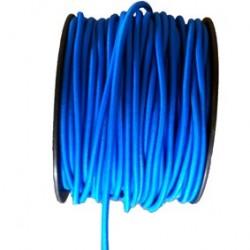 Câble élastique pro 8 mm bleu