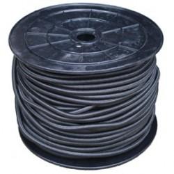 Câble élastique pro 8 mm noir