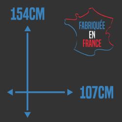 Bâche de remorque 154x107cm