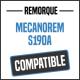 Bâche de remorque compatible MECANOREM S190A