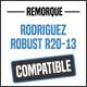 Bâche de remorque compatible RODRIGUEZ ROBUST R20-13