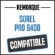 Bâche de remorque compatible SOREL PRO 8400