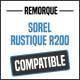 Bâche de remorque compatible SOREL RUSTIQUE R200