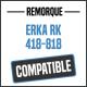 Bâche de remorque compatible ERKA RK 418-818