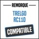 Bâche de remorque compatible TRELGO RC110