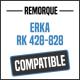 Bâche de remorque compatible ERKA RK 428-828