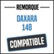 Bâche de remorque compatible DAXARA 148