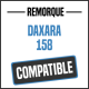 Bâche de remorque compatible DAXARA 158