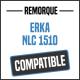 Bâche de remorque compatible ERKA NLC 1510
