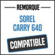 Bâche de remorque compatible SOREL CARRY 640