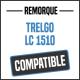 Bâche de remorque compatible TRELGO LC1510