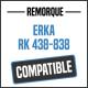 Bâche de remorque compatible ERKA RK 438-838