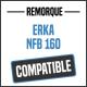 Bâche de remorque compatible ERKA NFB 160
