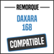 Bâche de remorque compatible DAXARA 168