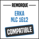 Bâche de remorque compatible ERKA NLC 1612