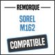 Bâche de remorque compatible SOREL M162