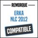 Bâche de remorque compatible ERKA NLC 2012
