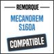 Bâche de remorque compatible MECANOREM S160A